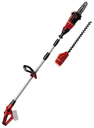 Einhell Akku-Multifunktionswerkzeug GE-HC 18 Li T-Solo (2-in-1 Heckenschere und Motorsäge, Oregon Schwert, ohne Akku und Ladegerät)