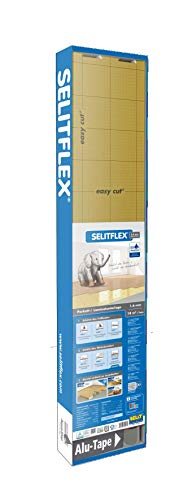 SELITFLEX 1,6 mm AquaStop - Sottofondi per pavimenti laminati e parquet (18 m + tape)