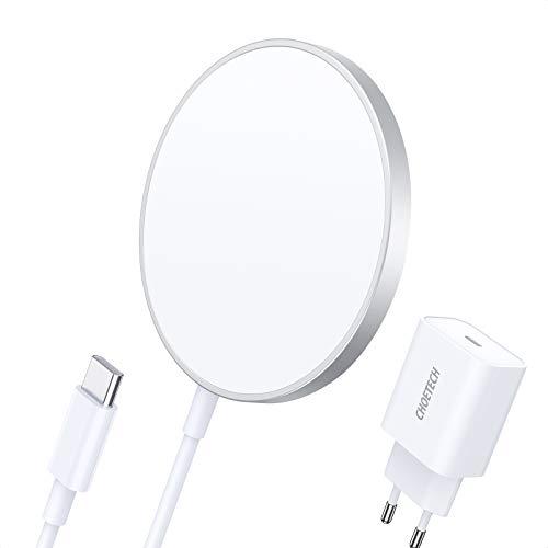 CHOETECH Cargador Inalámbrico Magnético, Wireless Charger...