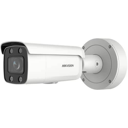 Hikvision DS-2CD2647G2-LZS (3.6-9mm) Telecamera di Rete Bullet Varifocale Motorizzata ColorVu da 4 MP