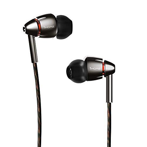 1MORE Quad Driver Écouteurs intra-auriculaires Casque haute fidélité haute résolution avec...