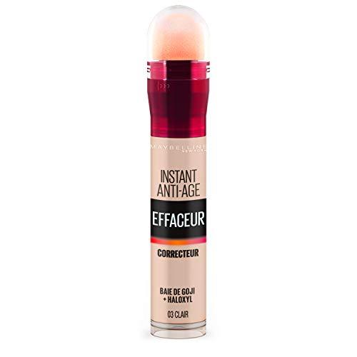 Maybelline New York - Anti-cernes/Correcteur Fluide - Instant Anti-Age L'Effaceur - 03 Clair - 6,8 ml