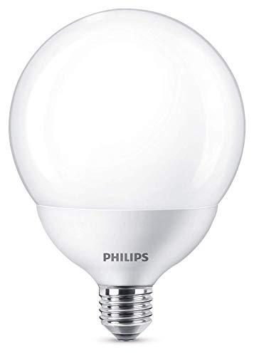 Philips Lighting Lampadina LED Globo, Attacco E27, 18 W Equivalente a 120 W, 2700 K, Luce Calda, [Classe di efficienza energetica A+]