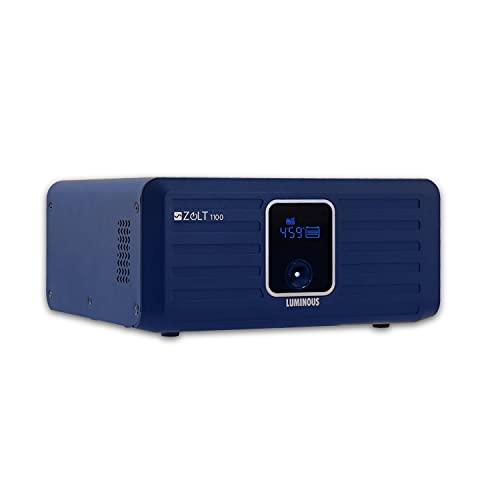 Luminous Zolt 1100 Sine Wave Inverter for Home, Office & Shops (Blue)