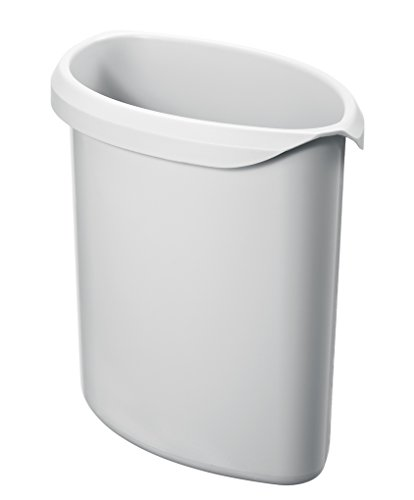 HAN 1816-11, Abfalleinsatz, für die perfekte Abfalltrennung, Premium Qualität, 2 Liter Volumen, lichtgrau