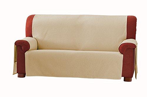 Eysa 3-Squares Zoco - Copridivano 3 posti, colore: 31-beige, plastica;tela