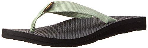 Teva Women's Classic Flip Flop, Stone Green, 6 M US