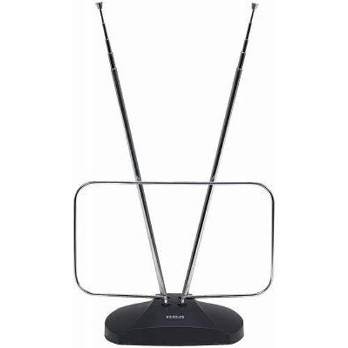 RCA ANT111E Indoor Digital TV Antenna, Non-Amplified, 40-Mile Range