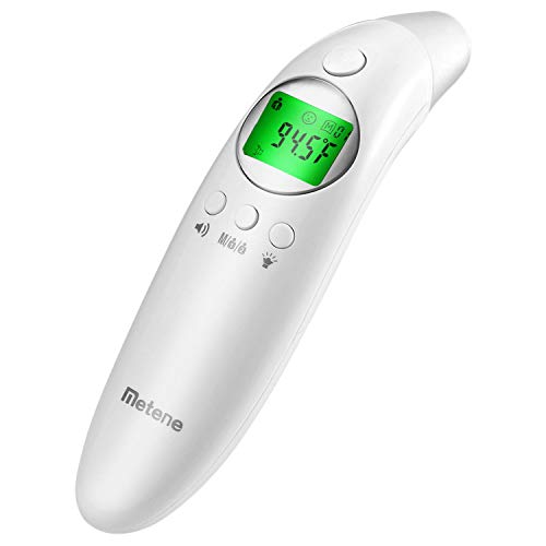 Metene Medical Forehead and Ear Thermometer for Fever