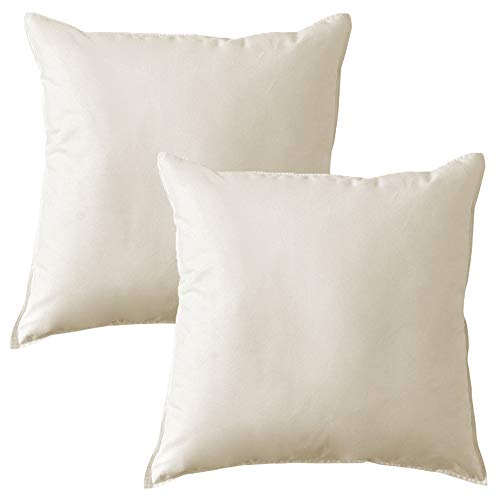 MACK - Set di cuscini di base con imbottitura in piuma   cuscino di piuma per un sonno ristoratore  ...