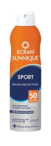 Ecran Sunnique SPORT, Bruma Solar para Deportistas con SPF50 -...