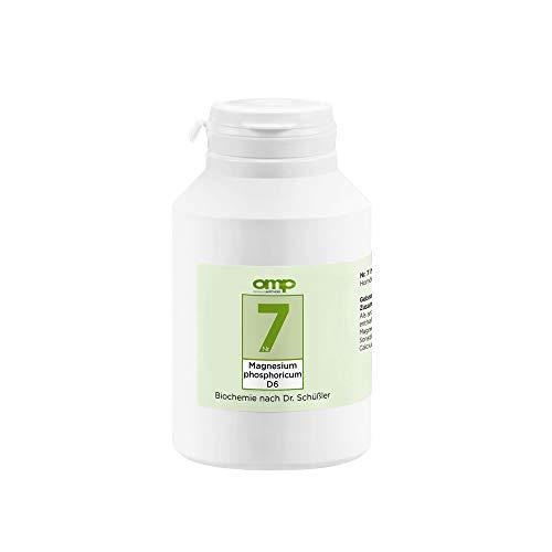 Schüssler Salz Nr. 7 Magnesium phosphoricum D6 | 1000 Tabletten | Das Salz der Muskeln und Nerven | glutenfrei