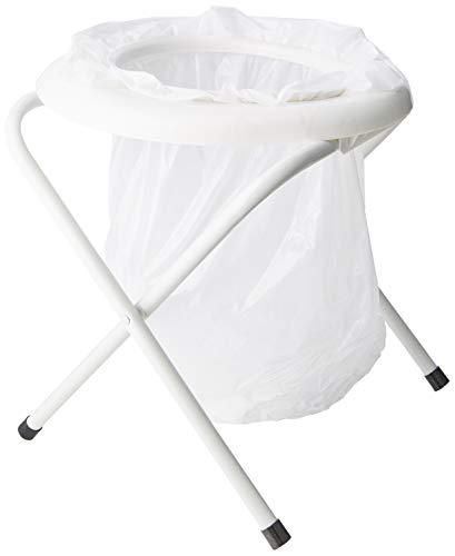 Highlander Portable Toilet Campingtoilette, weiß, One Size