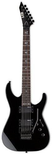 ESP LTD KH-202 Signature Series Kirk Hammett Electric Guitar, Black