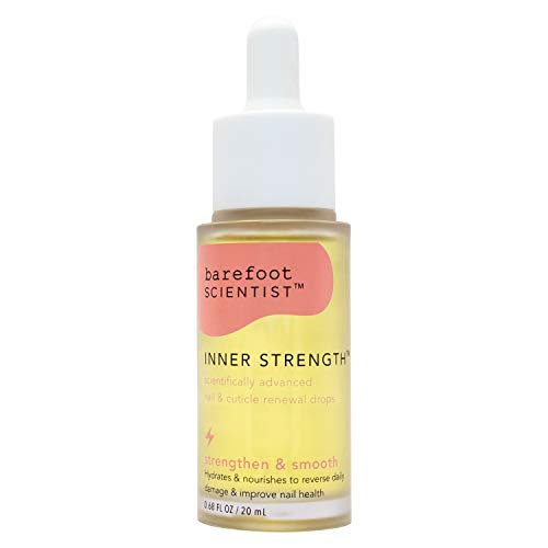 Barefoot Scientist Inner Strength Nail and Cuticle Renewal Drops, Award-Winning Cuticle Oil for Fingernails and Toenails