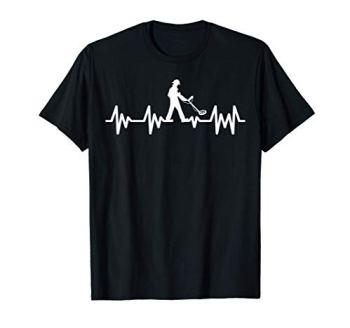 Détecteur métaux Détection Detectoring Cardio Metaldetector T-Shirt