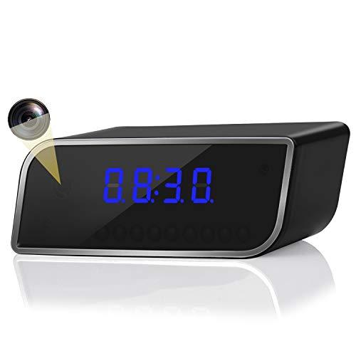 Hidden Camera, Alarm Camera Clock, 1080P Clock Camera...