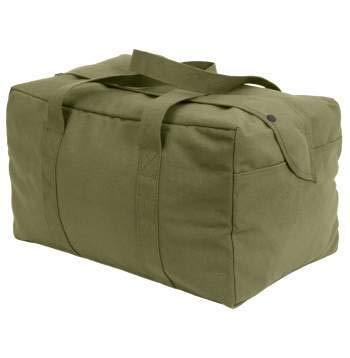 Rothco Canvas Small Parachute Cargo Bag, Olive Drab