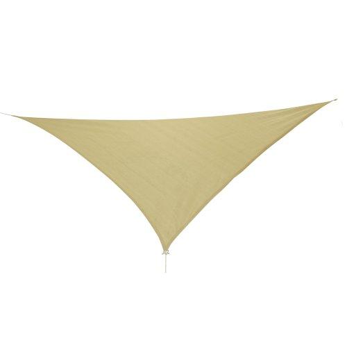 10T Emerson Dreieck Tarp 5m Sonnensegel wetterbeständig, atmungsaktiv, 90{f1d55c2a4f91232cd4036ba8fe16929d13c246fc3d30ab47d2c03a2427608a49} UV Schutz, Sonnenschirm