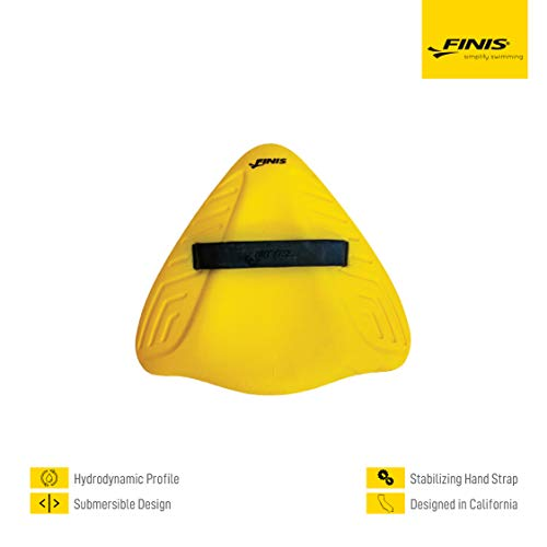 FINIS Trainingsgeräte Alignment Kickboard, Yellow, One Size