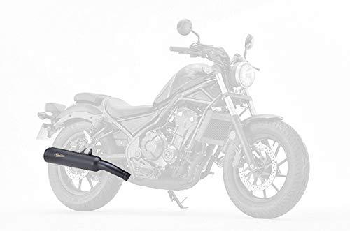 アールズギア(R's Gear) スリップオンマフラー ワイバンクラシック ブラックエディション レブル500(17-) WH28-03CB