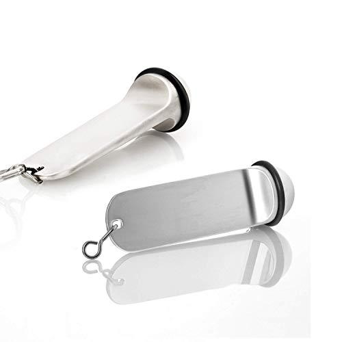 Faimex Lot de 2 porte-clés d'hôtel avec anneau en caoutchouc pour clés...