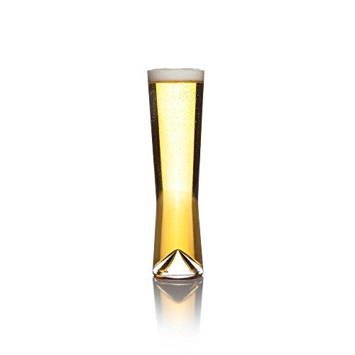 Sempli Bicchieri di birra Pilsner chiara monti-Pils, Set del contenitore di regalo In 2