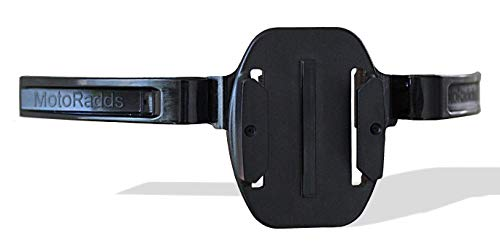 MotoRadds Universal Motorcycle Helmet Chin Mount for GoPro (Compatible with Ruroc Helmet)