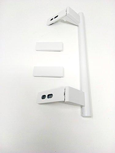Maniglia porta Frigorifico Liebherr, largo 31cm Ente fori 24, 5cm con coperchio placca