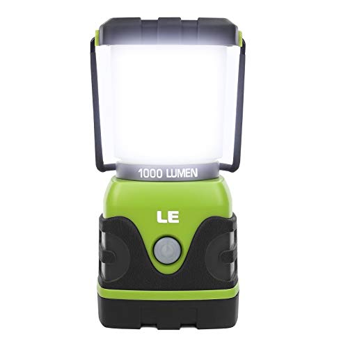 LE Outdoor LED Camping Lantern -1000lm, Dimmable