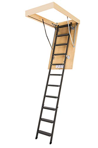 6. FAKRO LMS 66869 Insulated Steel Attic Ladder