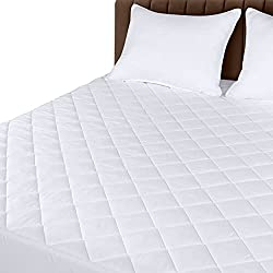 Utopia Bedding – Quilted Mattress Pad – Runner Up, Best Quilted Finish