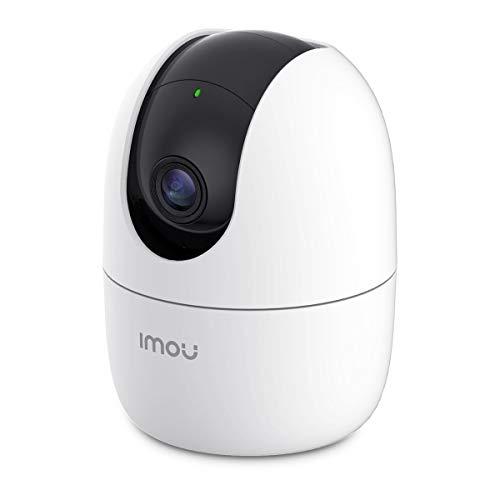 Telecamera di sicurezza a cupola da interni per sorveglianza domestica Imou dotata di Wi-Fi risoluzione 1080P, rilevamento antintrusione, tracking intelligente, modalità privacy