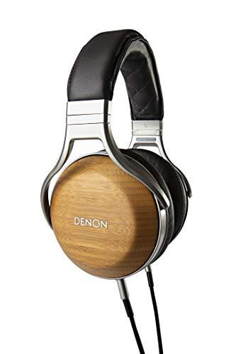 DENON Headphone Over Ear / hi-Res Sound Source corresponding / Wood housing Grain AH-D9200