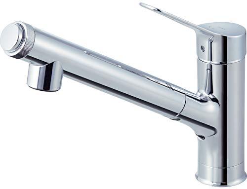 INAX・LIXIL キッチン水栓【JF-AJ461SYX(JW)】 オールインワン浄水栓 浄水器内蔵シングルレバー混合水栓