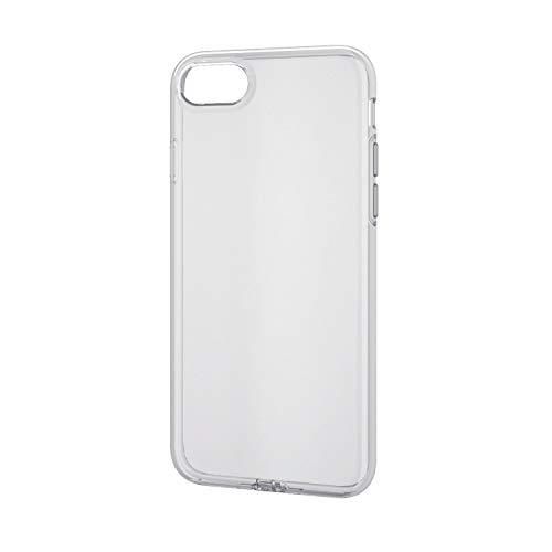 エレコム iPhone SE 第2世代 2020 / 8 / 7 対応 ケース ソフト 弾力性+頑丈 [ゴムのような弾力性で衝撃を吸...