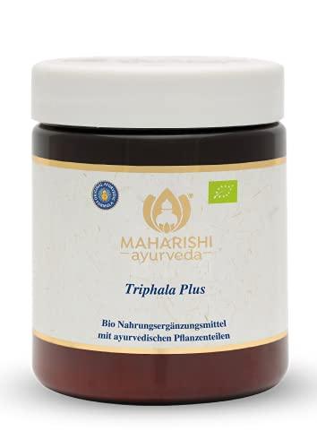 Maharishi Ayurveda Triphala Plus, Bio, ayurvedisches Nahrungsergänzungsmittel, 250 Tabletten / 250 g