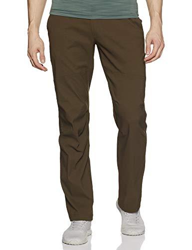 Columbia Mens Royce Peak II Hiking Pants, Water repellent, Stain Resistant, Olive Green, 28x36