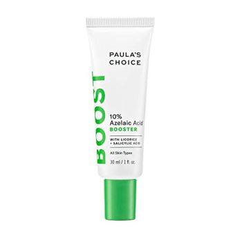 Paula's Choice BOOST 10% Azelaic Acid Booster Cream Gel, Licorice Extract & Salicylic Acid, Oil-Free Skin Brightening Serum, 1 Ounce