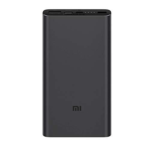 Xiaomi Fast Charge Power Bank 3 Caricatore 10000 mAh, Mi 18 W, Nero