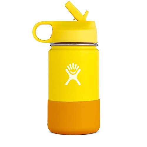 Hydro Flask 12 oz Kids Water Bottle - Lemon