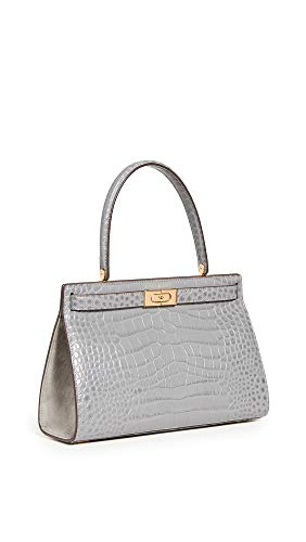 313 VQfEVjL Leather: Croc-embossed cowhide Gold-tone hardware, Structured silhouette Length: 11.5in / 29cm