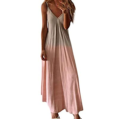 💕Material: Polyester, soft material, lightweight and comfortable,a must-have dress in your wardrobe, can be easily dress up or dress down, comfy dress and you can wear it all day long. 💕Occasion: versatile dress to hang around the house with or go ou...