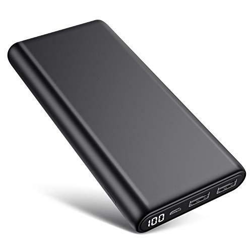 Trswyop Batterie Externe 26800mAh, Chargeur Portable【Version Améliorée...