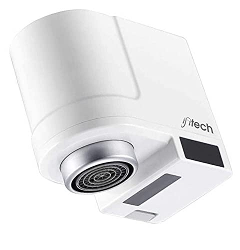 IFITech ABS Water Saving Faucet, White, Coated Finish