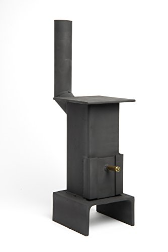 Mini stufa a legna o a carbone
