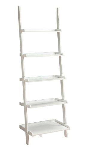 2. Convenience Concepts Bookshelf Ladder