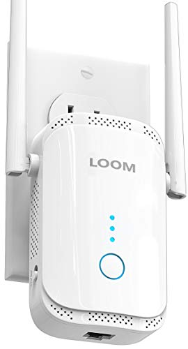 loom WiFi Extender Signal Booster up to 2640sq.ft- newest...