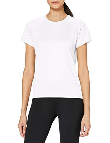 Stedman Apparel Active 140 Raglan/ST8500, T-Shirt Sportiva Donna, Bianco, M