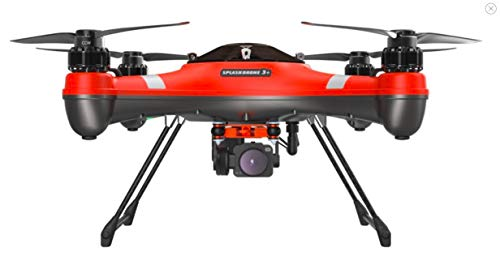 Swellpro Splash Drone 3 Plus Waterproof Drone with Payload Release (to Drop Fishing Bait or Life...